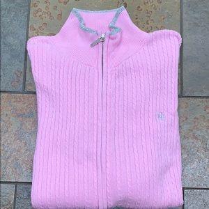 Ralph Lauren Sweater 2X Pink EUC
